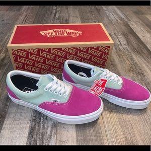 Vans Shoes - Vans era vintage purple pink blue shoes sneakers